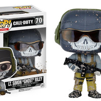 "Pop! Games: Call of Duty - Lt. Simon ""Ghost"" Riley 70 Vinyl Figure (New)"
