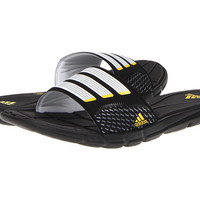adidas adipure® 360 Slide Black/Running White/Vivid Yellow - Zappos.com Free Shipping BOTH Ways