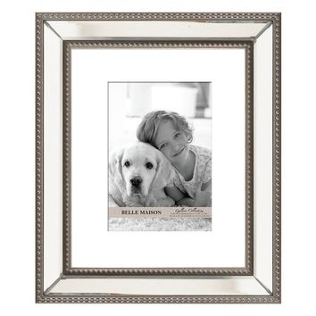 Belle Maison 5'' x 7'' Mirrored Matted Frame