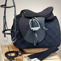 Saddles Tack Horse Supplies - ChickSaddlery.com Equiroyal Pro Am All-Purpose Saddle Package