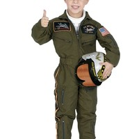 Jr. Air Force Pilot Toddler / Child Costume From Creative Kidstuff Educational Toys, Books and Games at Creative Kidstuff