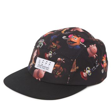 Neff Toy Story 5 Panel Camper Hat - Mens Backpack - Black - One