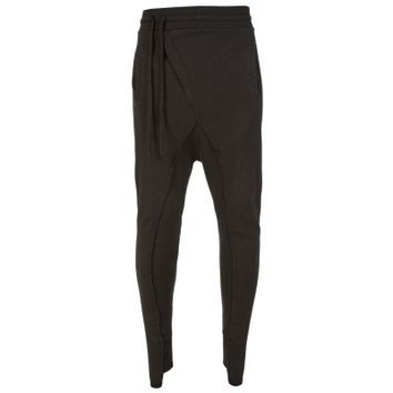 Thom Krom Green Slanted Sweatpants