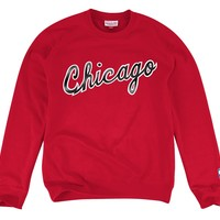 1984-85 Wordmark CrewChicago Bulls - Mitchell & Ness