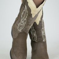 Two-Toned Cowgirl Boot