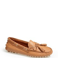 COACH 'Nadia' Leather Driving Loafer | Nordstrom