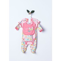 6pc infant girls romper