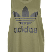 Trefoil Tank by adidas Originals - Topshop