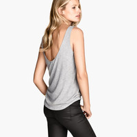 Lyocell Tank Top - from H&M