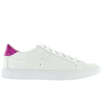 Steve Madden Lovve - White Lace-Up Sneaker