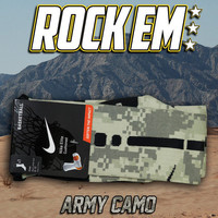 Army Digital Camo Elite Socks | Rock 'Em Apparel