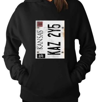 Supernatural License Plate For Man Hoodie and Woman Hoodie S / M / L / XL / 2XL*AP*