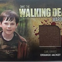 Cryptozoic Walking Dead Season 2 Costume M4 Riggs Carl Grimes Wardrobe Card
