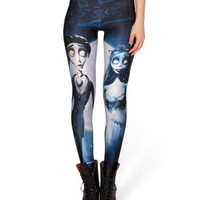 The Corpse Bride Print Leggings