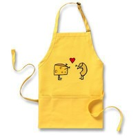 Macaroni and Cheese Aprons from Zazzle.com