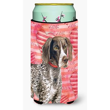 German Shorthaired Pointer Love Tall Boy Beverage Insulator Hugger BB9728TBC