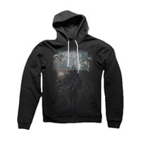 Crown The Empire Men's  The Fallout Limitless Hooded Sweatshirt Black Rockabilia