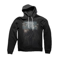 Crown The Empire Men's  The Fallout Limitless Hooded Sweatshirt Black