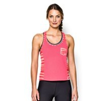 Under Armour Women's UA Printed Fly-By Crop Tank