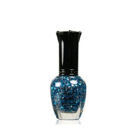 KleanColor Nail Polish Lacquer Starry Blue Top Coat Manicure Klean Color Girly