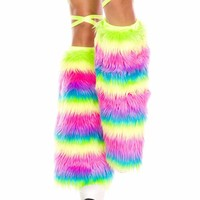 Multi-Color Rainbow Fluffies