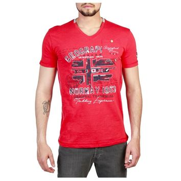 Geographical Norway Jouri Men Red T-shirts