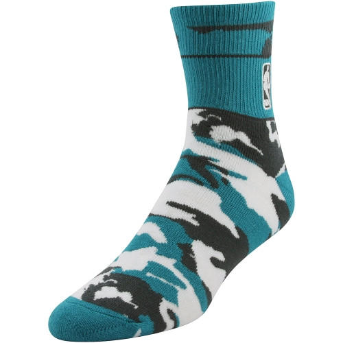 Nba Snapback Band Camo Socks Teal Black From Sports Deliver