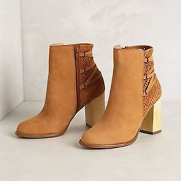 Anthropologie $198 Cottage Booties Sz 9.5 B - By Miss Albright - NIB