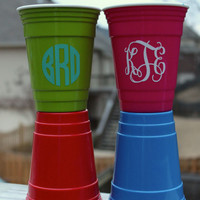 Personalized 16 oz Solo Cup