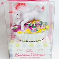 Unicorn Cupcake Bath Bomb