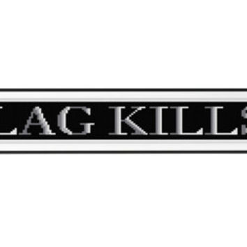 LAG KILLS Cross Stitch Pattern