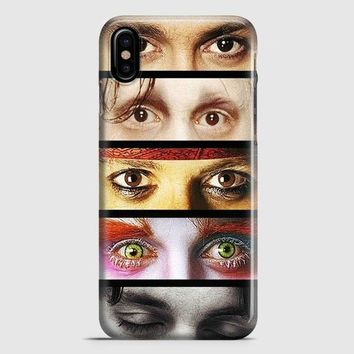 Johnny Depp iPhone X Case | casescraft