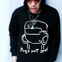 Plugs Not Drugs (Crewneck Sweatshirt) | STAY GREAT APPAREL