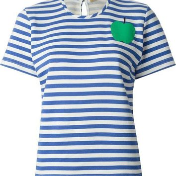 DCCKIN3 Peter Jensen horizontal stripe T-shirt