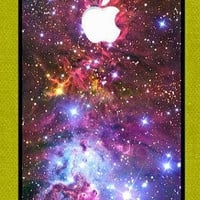 iPhone 4 case iPhone 4s case - Fox Fur Nebula Galaxy Space iPhone Hard Case-graphic Iphone case