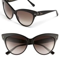 Women's Dior 'Mohotani' 58mm Cat Eye Sunglasses