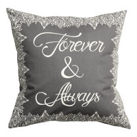 H&M Patterned Cushion Cover $5.99