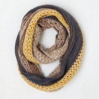 Espresso Your Love Circle Scarf by ModCloth