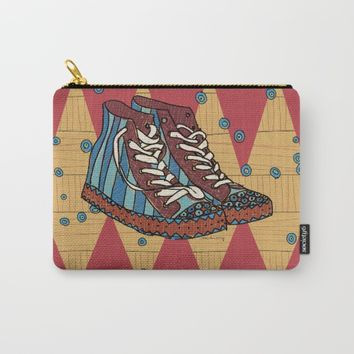 funky shoes Carry-All Pouch by rauschsinnig