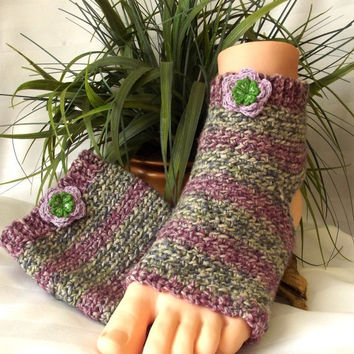 Spring SALE, Handmade Yoga Socks, Athletic Apparel,  Dance/Gymnastic  Gear,  Flip Flop Socks, Pilates Clothing, Accessory