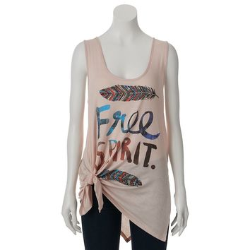 S.o. R.a.d. Collection by Awesomeness TV Knit Screen Tunic Tank, Size: