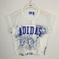 DCKKID4 adidas Originals Chiffon Splicing Tee T-shirt