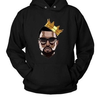 DCCKL83 Kanye West Yeezy Hoodie Two Sided