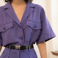 Purple Utility Shirt