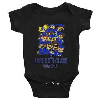 90s Class baby Onesuits Create Cheap Infant Bodysuit Baby Cloth Customized