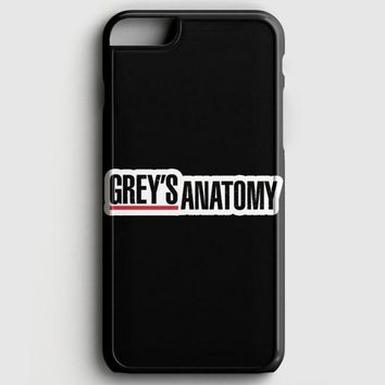 GreyS Anatomy iPhone 6/6S Case