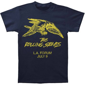 Rolling Stones Men's  LA Friday Eagle T-shirt Navy