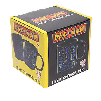 Pac-Man Icons Heat Reveal Mug