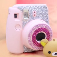 CAIUL Decor Sticker For Fujifilm Instax Mini 8 (Blue)