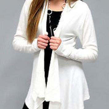 Kiera Tiered Cardigan: S-XL